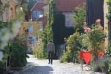 Rue de Dragør en été