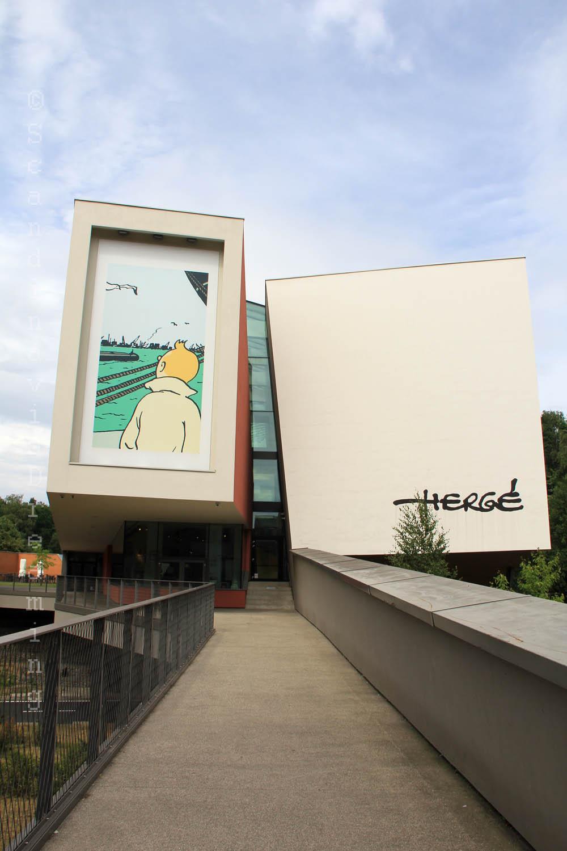 Allée du musée Hergé
