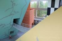 Hall du musée Hergé