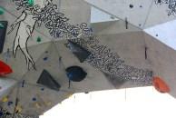 Mur d'escalade de Bananna park