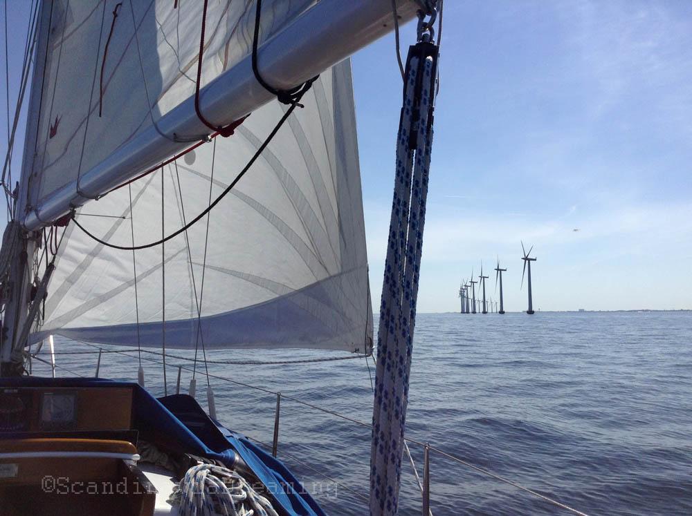 Passage des éoliennes