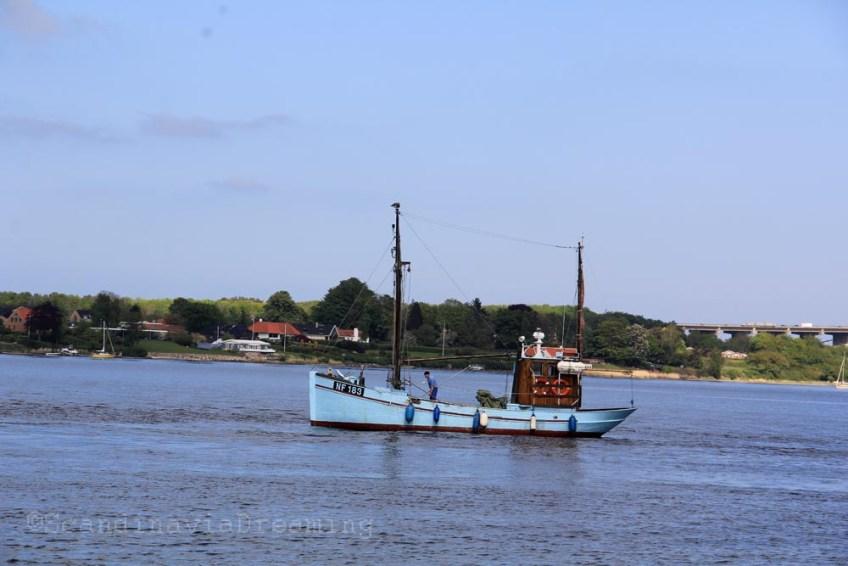 Bateau de pêche danois