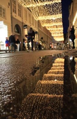 Rue illuminée Kronprinsesgade
