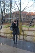 Selfie d'hiver