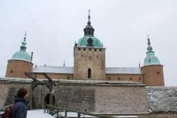 Entrée du château de Kalmar