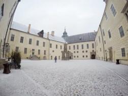 Cour du château de Kalmar