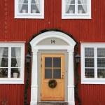 Maison rouge de Gamla Stan