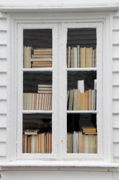 La fenêtre aux livres