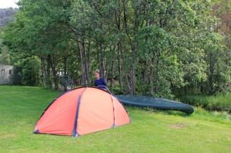 Premier campement