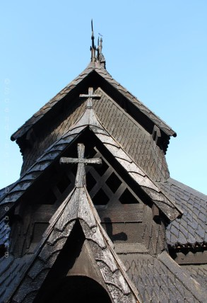 Toit de l'église de Flaam