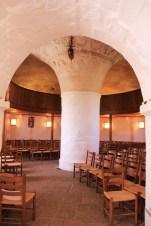 Nef église ronde Olsker Bornholm