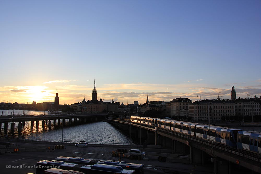 Coucher de soleil Stockholm