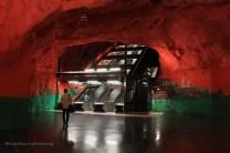 Metro rouge et vert