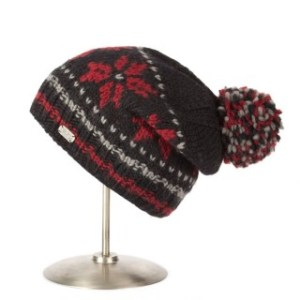 pk1425-black-red-moss-yarn-floppy-beret-snowflake-320x320