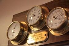 baromètre horloge hygromètre