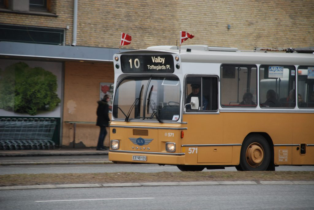 Bus dannebrog