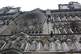 Façade cathédrale Trondheim
