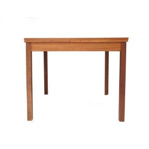 Table de salle à manger carrée Ansager Mobler, scandinave danoise années 50 60