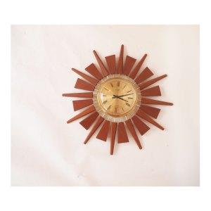 Horloge murale Anstey Wilson, vintage 50 60