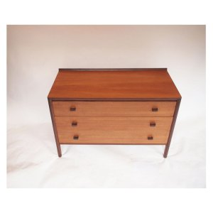 Commode vintage scandinave, 3 tiroirs