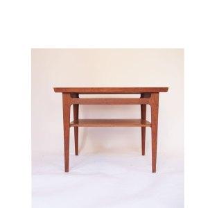 Table basse vintage scandinave, France & Son, Danemark années 50 60