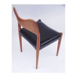 Paire de chaises scandinave danoises vintage Arne Hovmand Olsen
