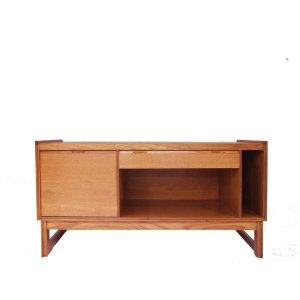 Enfilade meuble vinyles scandinave vintage 50 60