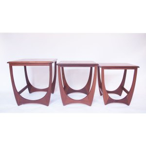 Tables gigognes vintage scandinave Gplan