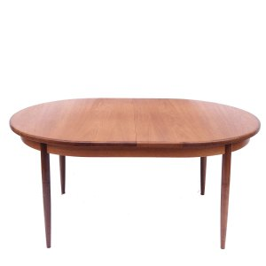 Table de salle à manger ovale scandinave vintage Gplan