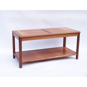 Table basse rectangulaire scandinave vintage