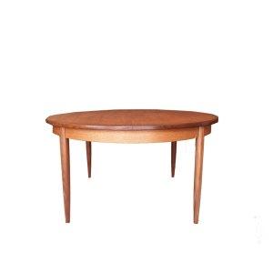 Table de salle à manger ronde scandinave vintage Gplan