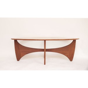 Table basse Astro ovale scandinave vintage #348