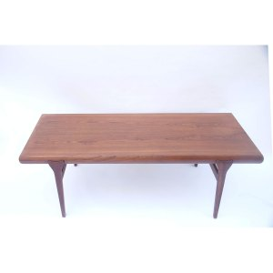 Grande table basse scandinave vintage Johannes Andersen