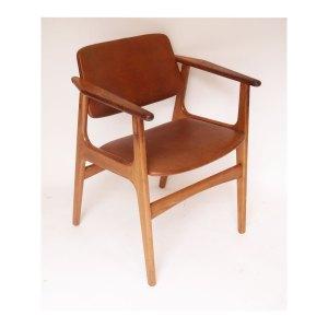 Chaise de bureau scandinave danois Arne Vodder