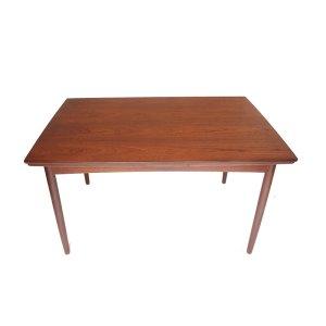 Table de salle à manger ou bureau épuré scandinave danois vintage