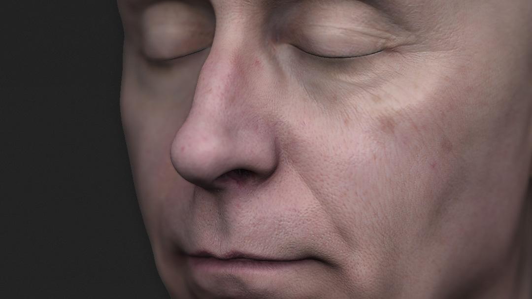 Head 3D Scans