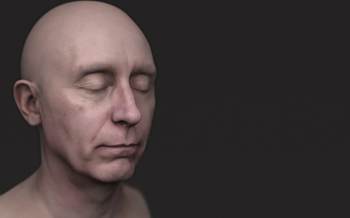 3d Scan Facemask