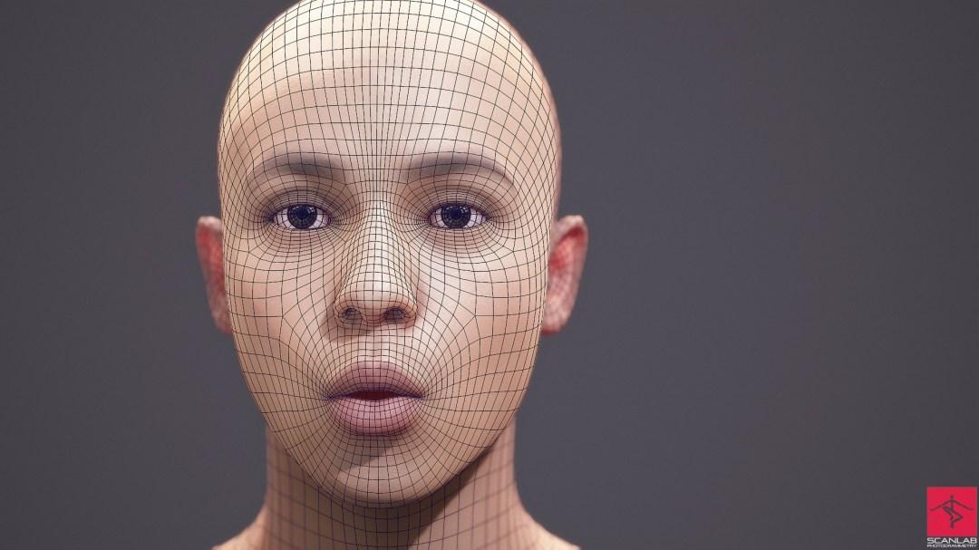 3d face scans