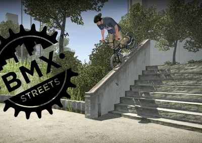 The Pipe with BMX Streets