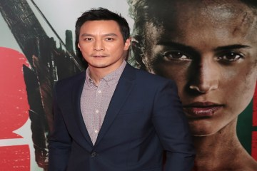 Daniel Wu at Tomb Raider Irish Red Carpet