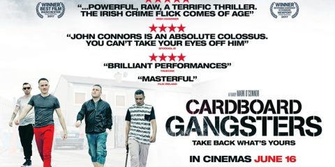 Cardboard Gangsters Quad Poster