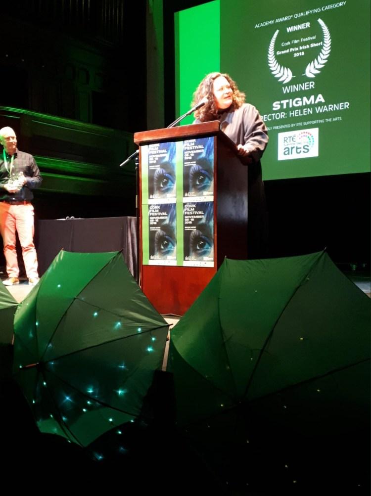 winner of the Academy-Award®-qualifying Grand Prix Irish Short