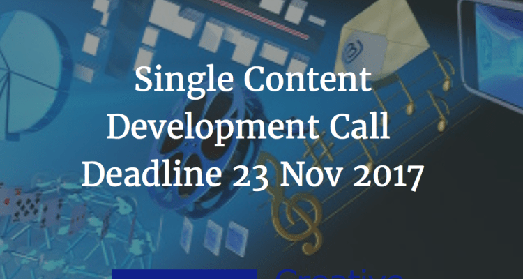 Creative Europe Single Project Content Development