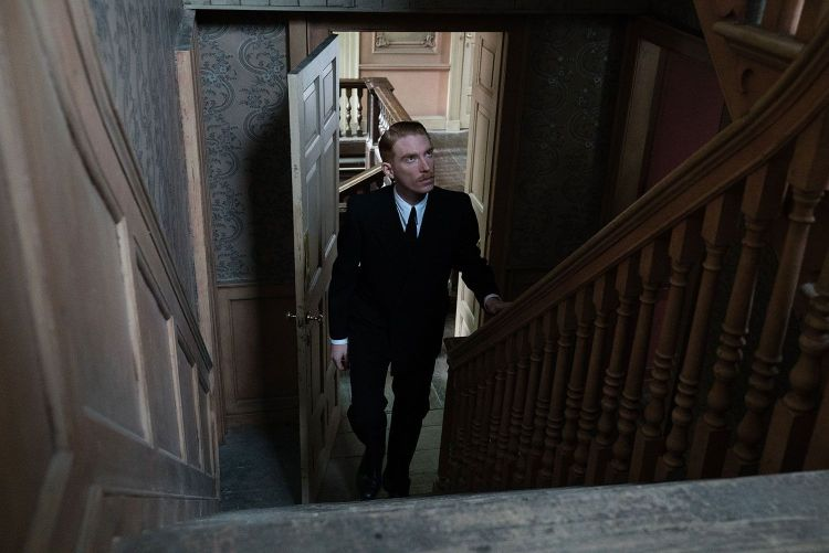 "Domnall Gleeson stars as ""Dr. Faraday"" in director Lenny Abrahamson's THE LITTLE STRANGER, a Focus Features release. Credit: Nicola Dove / Focus Features"