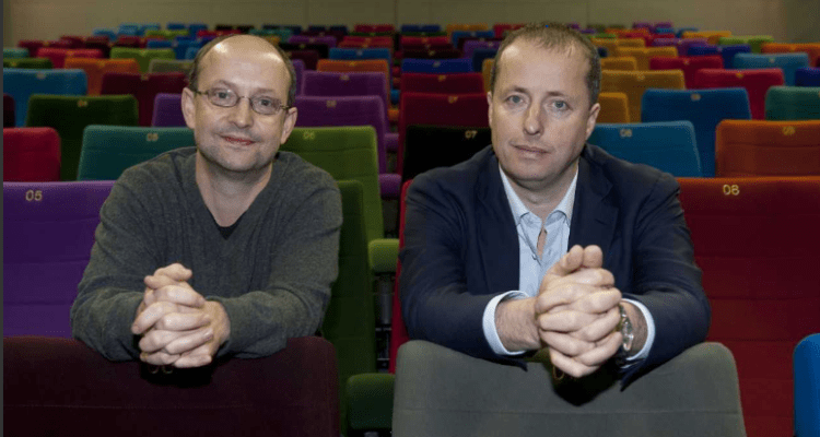 Element Pictures Founders Ed Guiney and Andrew Lowe