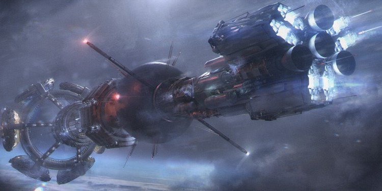 Nightflyers - Concept art of ship