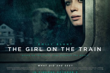 The Girl on the Train- Quad Poster
