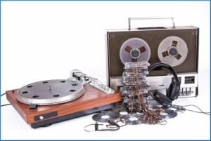 Digitaliseren geluid en audio Scanpaleis