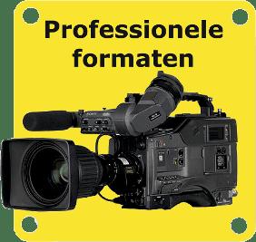 Ga direct naar de module tarieven digitaliseren professionele videoformaten.