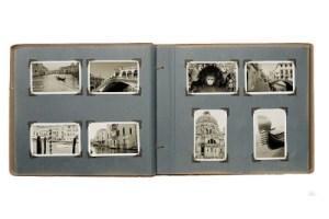 Digitaliseren losse foto's uit fotoalbum: fotoboek Venetië